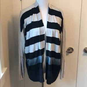All saints cardigan striped